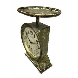 Fresh Market Scale Clock